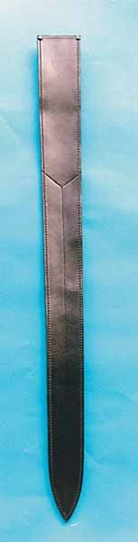 Lederscheide für Schwerter bis 73 cm Klingenlänge