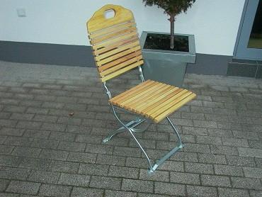 Stuhl Baden Baden ohne Armlehnen verzinkt