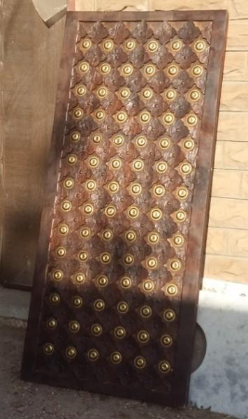 Antike mittelalterliche Tür Maß: Höhe200xBreite80cm Massivholz