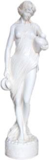 "Figur ""Helena am Brunnen"" Höhe77cm"