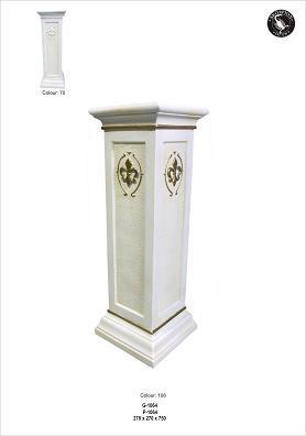 Säule,Podest,Tischuntergestell Höhe75cm