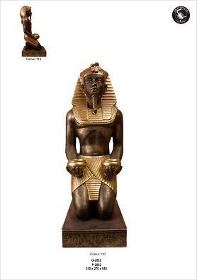 """Ägyptischer Pharao """" Tut Ench Amun"""" Höhe54cm"""