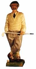 Figur Golfer Höhe 92cm