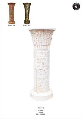 "Säule "" Ägypten"" Höhe89cm"