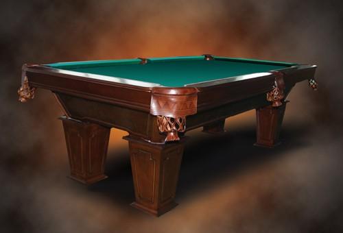 8 Ft. Pool - Tunierbillard Model Wingate Farbe: Nussbaum
