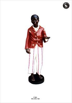 """Figur Butlerfigur """" Joe"""" Höhe142cm"""