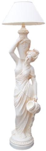 """Stehlampe """"Diana am Brunnen mit Lampenschirm"""" Höhe170cm"""