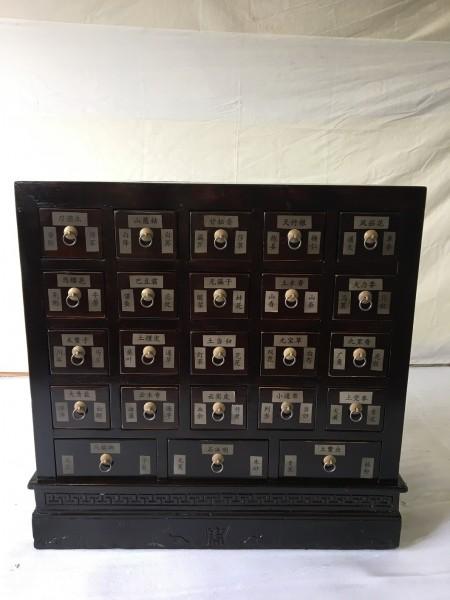 Antiker Apothekerschrank mit 23 Schubladen Breite84cm x Höhe94cm