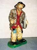 "Figur ""Penner"" Höhe 95cm"
