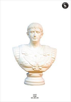 """Büste """" Römischer Kaiser Augustus"""" Höhe 69cm"""