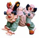 """Clown """"Zirkusclown Die Krabbler"""" Länge43cm"""