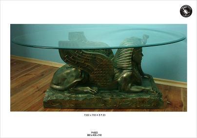 """Couchtisch Ägypten """" Spinhx Länge 130cm"""