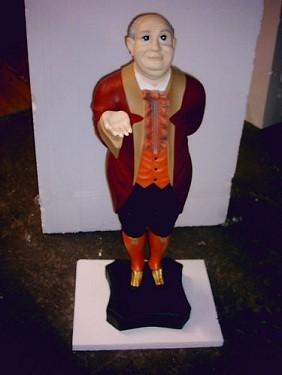 "Stummer Diener ""American Butlerfigur"" Höhe 100cm"