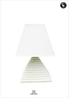Pyramidentischlampe