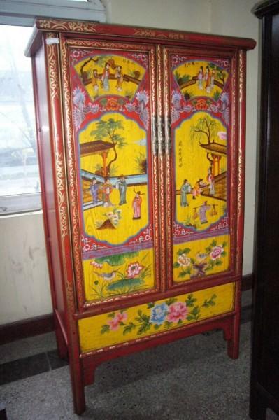 Antike chinesischer Kabinetschrank Kleiderschrank mit 2 Türen