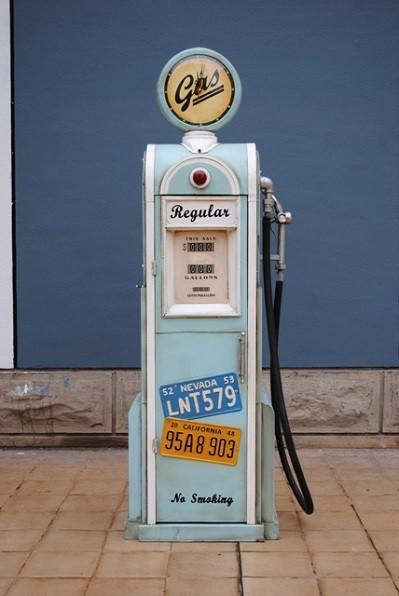 Tanksäule Modell Gas Höhe155cm