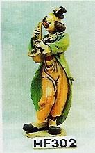 Clown Saxophonist Höhe 65cm