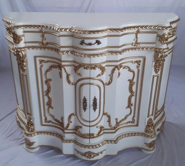 Königliche Antike Barock Rokoko Louis XIV. Kommode Sideboard Breite135cm