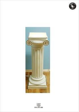 Säulenlampe als Fluter, Höhe85cm