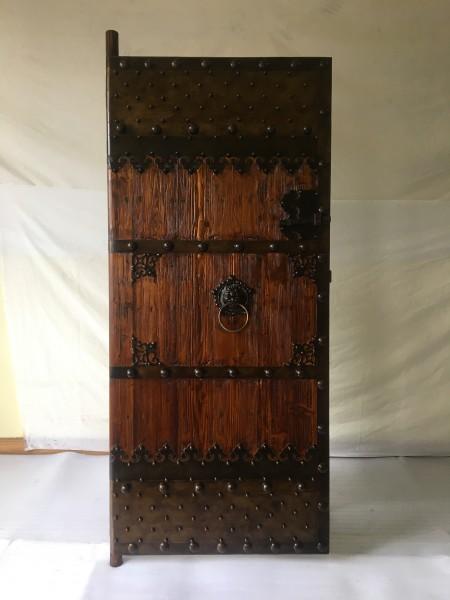 Antike Tür Breite90 x Höhe200cm , links