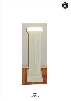 Säulenlampe als Fluter, Höhe84cm