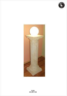 """Säulenlampe """" Greece"""" Höhe 140cm"""
