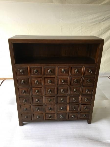 Antiker Apothekerschrank Kommode mit 36 Schubladen Breite90xHöhe105cm