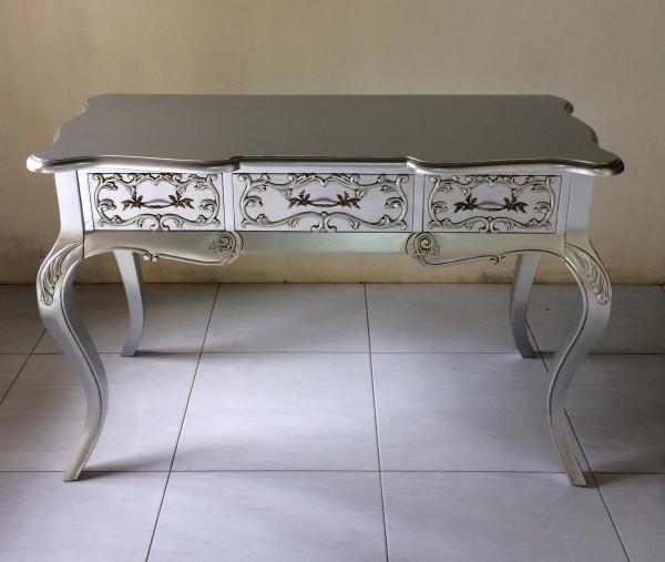 Antiker Barock Louise Sekretär Rokoko Schreibtisch Breite122cm
