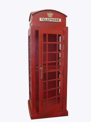 Engliche Telefonzelle Höhe 125cm