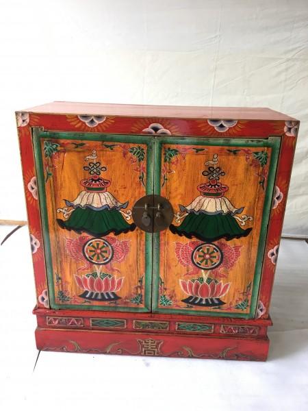 Antike chinesisch tibetische Kommode Sideboard Breite96cm