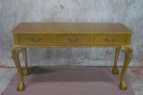 Sekretär Schreibtisch Chippendale Breite135cm