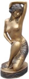 "Figur "" Tänzerin"" Höhe 37cm"