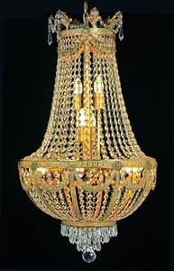 Kristallkronleuchter H95 x B60cm