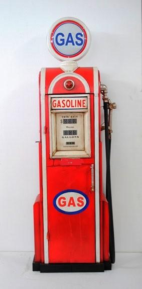Tanksäule Modell Gasoline Whitered Höhe155cm