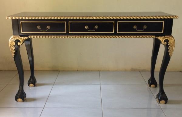 Antiker Barock Rokoko Louis Sekreträr Schreibtisch Breite135cm