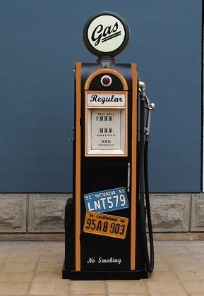 Tanksäule Gas Höhe 155cm