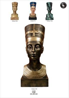 """Ägyptische Büste """" Nofretete"""" Höhe 53cm"""