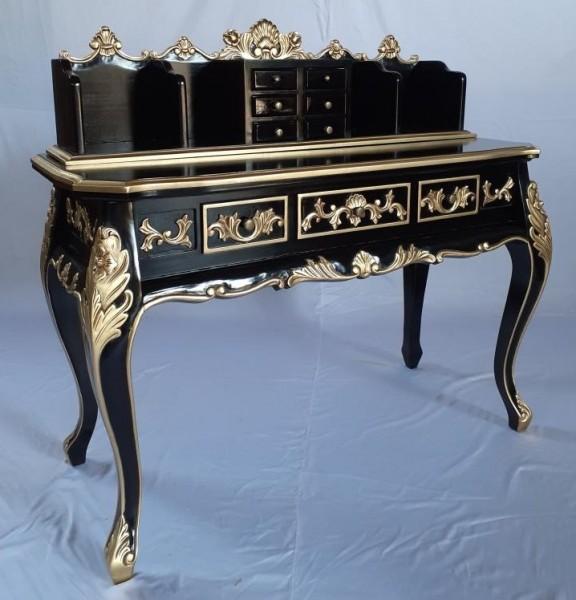 Königlicher Antiker Barock Rokoko Louis Sekretär Schreibtisch Breite117cm