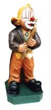 """Figur""""Clown Saxophonist"""" Höhe 67cm"""