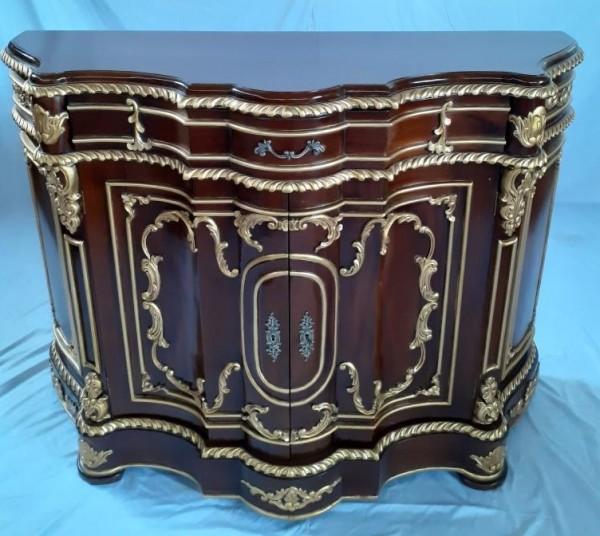 Königliche Antike Barock Rokoko Louis Kommode Sideboard Breite135cm