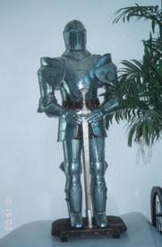 Ritterrüstung Artus,klein Höhe 100cm