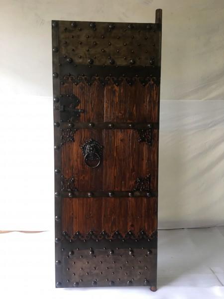 Antike Tür Mittelalter Breite80x Höhe 200cm , rechts