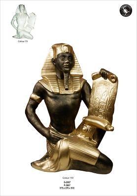 """Ägyptische Figur """" Schreiber"""""""