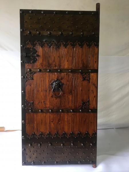 Antike Tür Mittelalter Breite90 x Höhe200cm rechte Führung