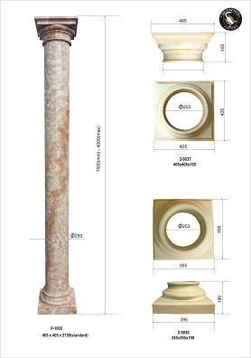 Säule,Raumsäule,Pfeiler , Standarthöhe275cm
