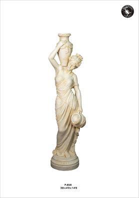 Figur Diana am Brunnen , Höhe 141cm