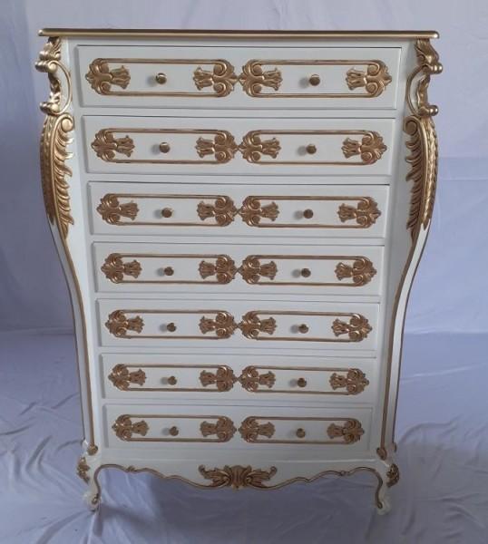 Antike Barock Rokoko Louis Kommode Sideboard Breite100cm
