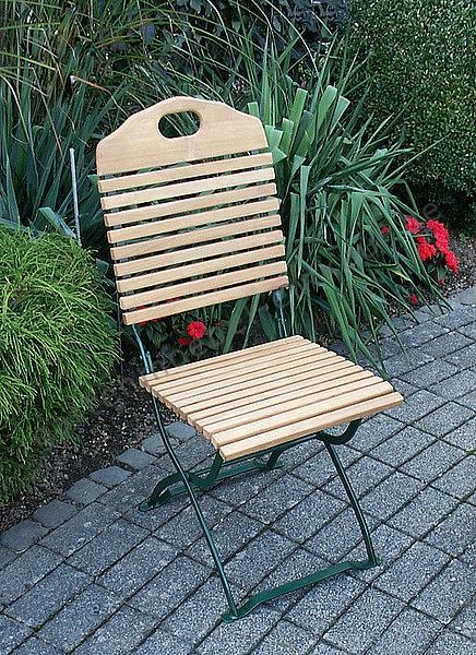 Biergartenstuhl Baden Baden - Stuhl ohne Armlehnen
