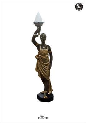 """Figurenlampe """" Orient II """" Höhe173cm"""