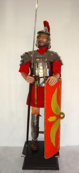 Römerrüstung Höhe 195cm zum Anziehen und Dekoration